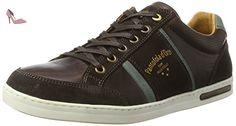 Pantofola d'Oro  Mondovi Uomo Low, chaussons d'intérieur homme - marron - Grain de café, - Chaussures pantofola doro (*Partner-Link)