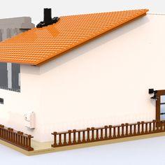 LEGO IDEAS - Steven Universe's Beach House Lego Steven Universe, Build My Own House, Lego Ideas, Beach House, Entrance, Have Fun, Building, Outdoor Decor, Projects