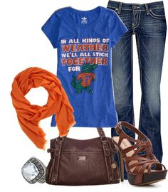"""Go Gators"" by gowickless on Polyvore"