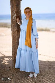 Ramadan hijab style outfits – Just Trendy Girls – Beauty Shares Hijab Fashion Summer, Modest Fashion Hijab, Hijab Style Dress, Modern Hijab Fashion, Street Hijab Fashion, Hijab Fashion Inspiration, Hijab Chic, Abaya Fashion, Muslim Fashion