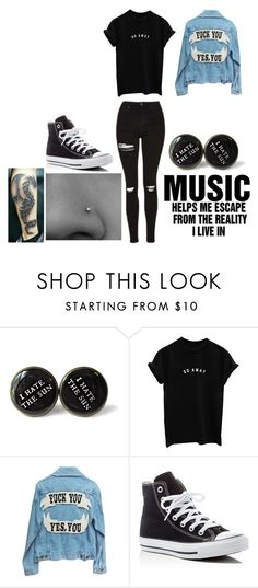 """""""Performing~Monisha"""" by ilovegeeway-emo ❤ liked on Polyvore featuring Converse"""