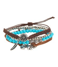 Elephant Bracelet 4-Pack