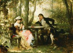Carl Schweninger - (1818/1887) - Pintor Austríaco.