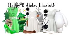"""""""Happy Birthday Elizabeth!"""" by tallybow ❤ liked on Polyvore featuring Disney, Kate Spade, Accessorize, Brian Atwood, RoomMates Decor, Topshop, Look.it, Anne Klein, Thomas Sabo and Allurez"""