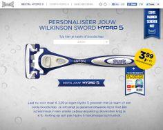 online - activatie Wilkinson Sword