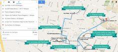 Itinerario a piedi di Bologna - dove sono i sette segreti di Bologna