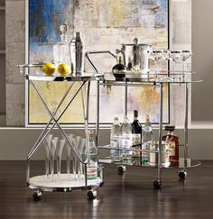 BAR CARTS galore from Lamps Plus
