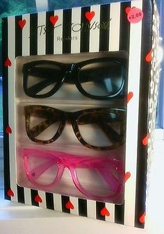 c297b3e4987d Betsey Johnson +2.00 strength Adult Reading Glasses