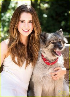 : Photo Laura Marano shows off her adorable pet pooch on the latest cover of Modern Dog magazine! The actress opened up to the mag about her dog Velvet, her… Laura Marano, Vanessa Marano, Disney Channel Stars, Disney Stars, Old Actress, Best Actress, Bad Hair Day, Austin Et Ally, Girl Celebrities