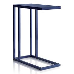 Skye Indigo C Table in All Sale | Crate and Barrel