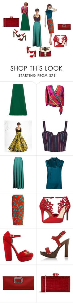 """Sin título #104"" by abaloriosestilos on Polyvore featuring moda, Dalood, Lanvin, 3x1, Missoni, Diane Von Furstenberg, Jessica Simpson, Privileged, Dsquared2 y Roger Vivier"