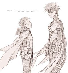 Damian and Tim by jojody.deviantart.com on @deviantART