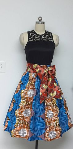 Excited to share the latest addition to my #etsy shop: Fully lined Skirt with Inside Pockets. Detachable Sash. Attached Petticoat. Womens. Handmade. African Prints. http://etsy.me/2Eiiaa8 #clothing #women #skirt #womensclothing #handmadeclothing #fullskirt #africanwaxp