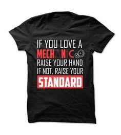 Awesome Mechanic Shirt T-Shirt Hoodie Sweatshirts aai