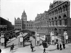 Liverpool Street Station, c 1885