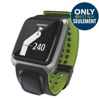 #GPS TomTom Golfer GPS Watch - Dark Grey/Bright Green #IWANTTHIS