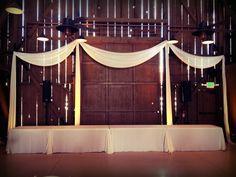 wedding head table, barn wedding, Camarillo Ranch, www.partypleasers.com Camarillo Ranch, Bride Groom Table, Jumping The Broom, Head Table Wedding, October 8, Event Photos, Draping, Valance Curtains, Wordpress