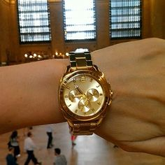 Perfect timing: the Coach Boyfriend Bracelet Watch at Grand Central Terminal in NYC #CoachNewYorkMinute