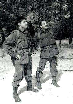 Band of Brothers - Scott Grimes, Richard Speight Jr.