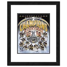 Pittsburgh Penguins 2017 Stanley Cup Champions Composite Framed Photo, Multicolor
