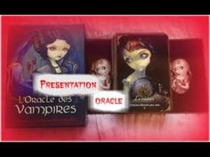 VIENS VOIR  L'ORACLE DES VAMPIRES(44 CARTES) DE LUCY CAVENDISH-JASMINE BECKET GRIFFITH - YouTube