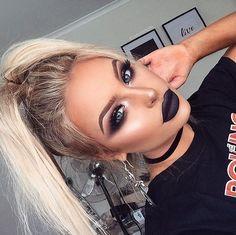 Goth-Inspired Glam - Smoke Show Makeup Ideas Perfect For One Night - Photos - # . - Goth-Inspired Glam – Smoke Show Makeup Ideas Perfect For One Night – Photos – - Makeup Goals, Makeup Inspo, Makeup Inspiration, Makeup Tips, Makeup Ideas, Makeup Trends, Makeup Hacks, Makeup Geek, Makeup Eyebrows
