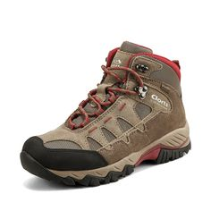 Clorts Women's Hiker Leather GTX Waterproof Hiking Boot Outdoor Backpacking Shoe HKM823 ** To view further for this item, visit the image link.