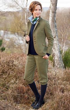 House of Bruar Ladies Tweed Breeks