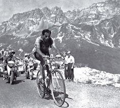 Fausto Coppi, col du Galibier 1952