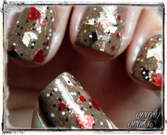 Want this glitter: Vivid Lacquers in The Harlequin's Adoration