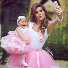 New Tutu Skirt Mother Daughter Pink Dresses Women Lace Beach Bohemian Party Gown in Clothing, Shoes & Accessories, Women's Clothing, Dresses Mother Daughter Photos, Mother Daughter Fashion, Mother Daughter Matching Outfits, Mommy And Me Outfits, Mom Daughter, Daughters, Baby Outfits, Baby Pageant, Pageant Wear