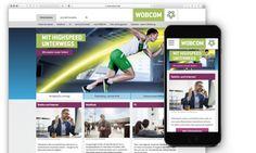 Mit Highspeed unterwegs - WOBCOM GmbH  Mit der neuen responsiven Corporate Website der WOBCOM können sich jetzt Privat- und Geschäftskunden des Telekommunikationsanbieters noch einfacher über aktuelle Angebote und Services informieren.
