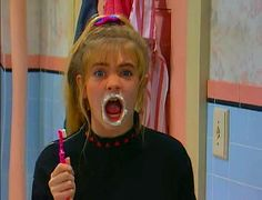 Clarissa can't explain the toothpaste smile Clarissa Explains It All, Favorite Tv Shows, My Favorite Things, Melissa Joan Hart, Soul Sisters, Ol Days, Good Ol, Good Things, Instagram
