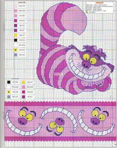 Thrilling Designing Your Own Cross Stitch Embroidery Patterns Ideas. Exhilarating Designing Your Own Cross Stitch Embroidery Patterns Ideas. Cross Stitch Bookmarks, Beaded Cross Stitch, Crochet Cross, Cross Stitch Charts, Cross Stitch Embroidery, Disney Stitch, Disney Cross Stitch Patterns, Cross Stitch Designs, Alice In Wonderland Cross Stitch