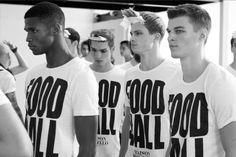 www.soupmagazine.com  #SoupDigital Milan Men's Fashion Week, Mens Fashion Week, Ermanno Scervino, John Varvatos, Black, Black People