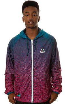 Adidas x Pharrell Williams raza humana cazadora (Blue, Navy & Red