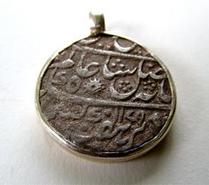 Ancient Coin Pendant  /  British India / by MysticMasalaGallery, $275.00