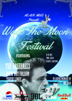Festiposter 1 - Walk the moon - a tribute to Johnny R. Cash