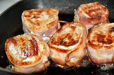 Walking the off-beaten path: HUNK OF MEAT MONDAY~ Pork Loin with Bacon Wrap