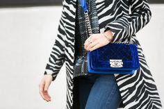 Chanel bag, Tacori ring, Wendy's Lookbook X Tacori bracelet
