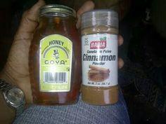 Cinnamon and honey for health