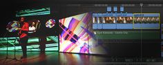 A production in Australia used Final Cut Pro X to edit films for multiple screens in a live performance. Video,...