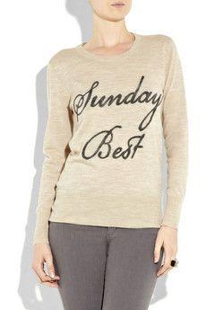 Sunday's best sweater