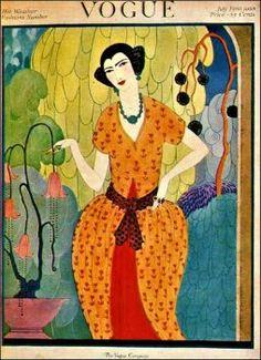 Vogue ~ July 1, 1920 (140 pieces)