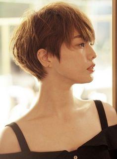 ☆大人のフレンチマッシュショート☆|髪型・ヘアスタイル・ヘアカタログ|ビューティーナビ
