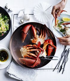 Mud crab with curry brown butter :: Gourmet Traveller