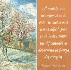 #Frases de #VanGogh arte, pintura Vincent Van Gogh, Dutch Painters, Post Impressionism, Real Life, Madrid, Outdoor, Insight, Inspire, Sayings