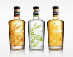 Tequila Suerte, diseño por Swig Studio | #packaging #design