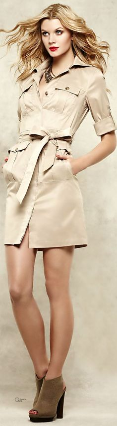 Neutral casual chic