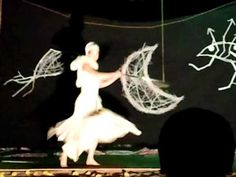 Spiral's hoop dance in Gala Show, InJuCo2011